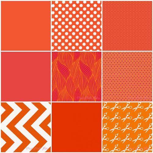 Pantone Color Of The Year 2012 tangerine tango quilt challenge | tango, pantone color and pantone