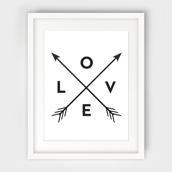 Black And White Love Wall Art | Droughtrelief.org