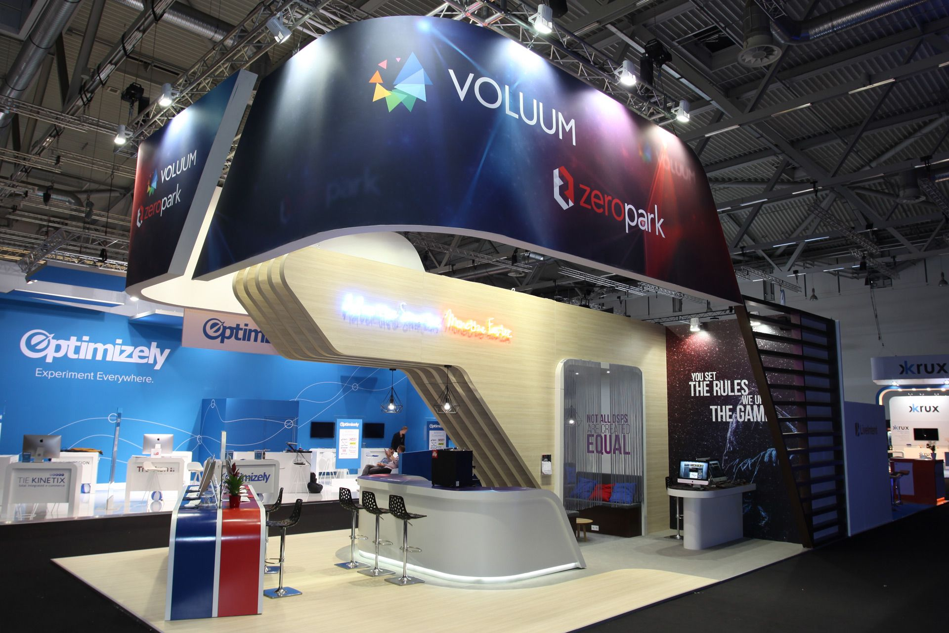 Expo Exhibition Stands : Codewise dmexco cologne pro expo exhibition stand design