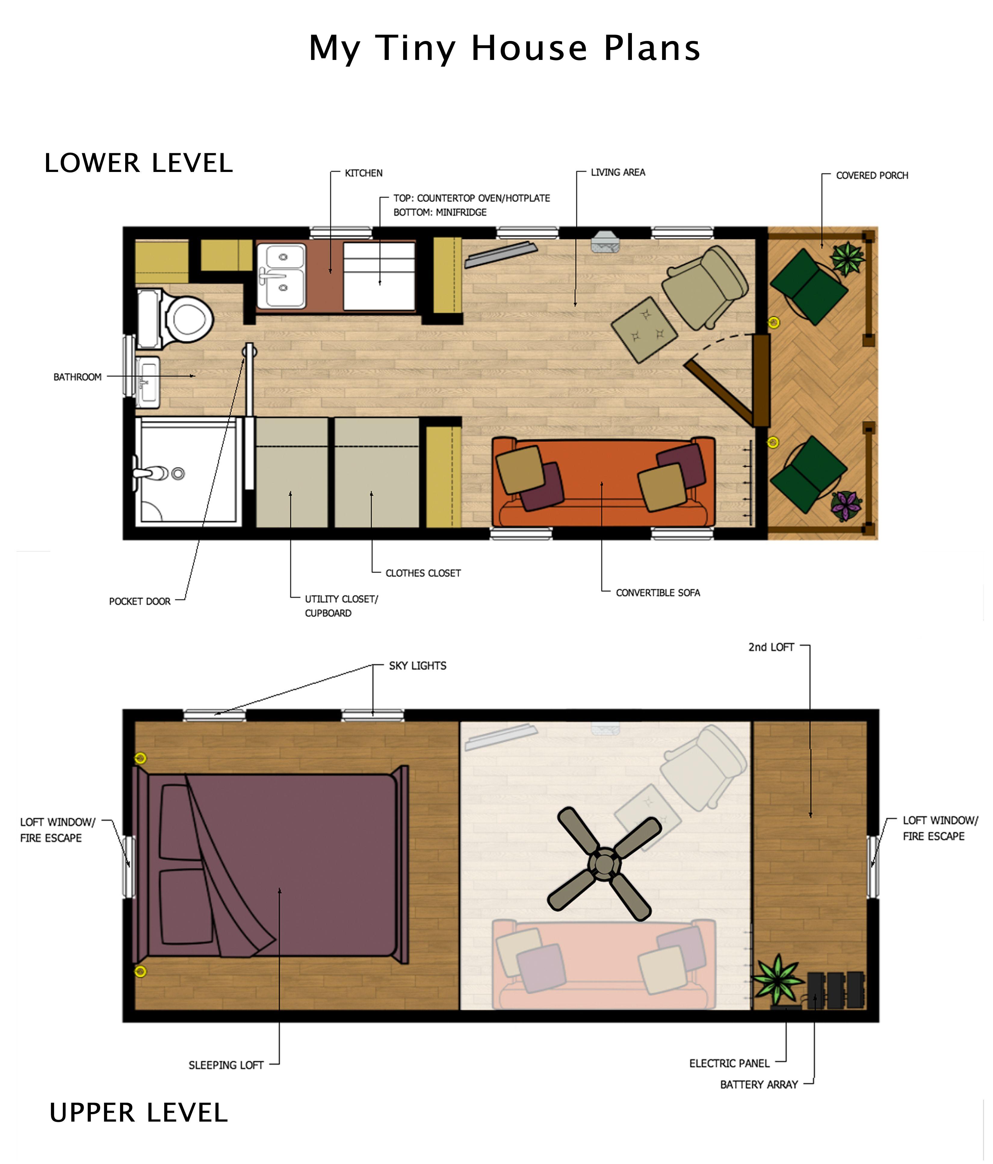 mra tiny house plans2 mein bauwagen pinterest haus kleines h uschen und wohnen. Black Bedroom Furniture Sets. Home Design Ideas
