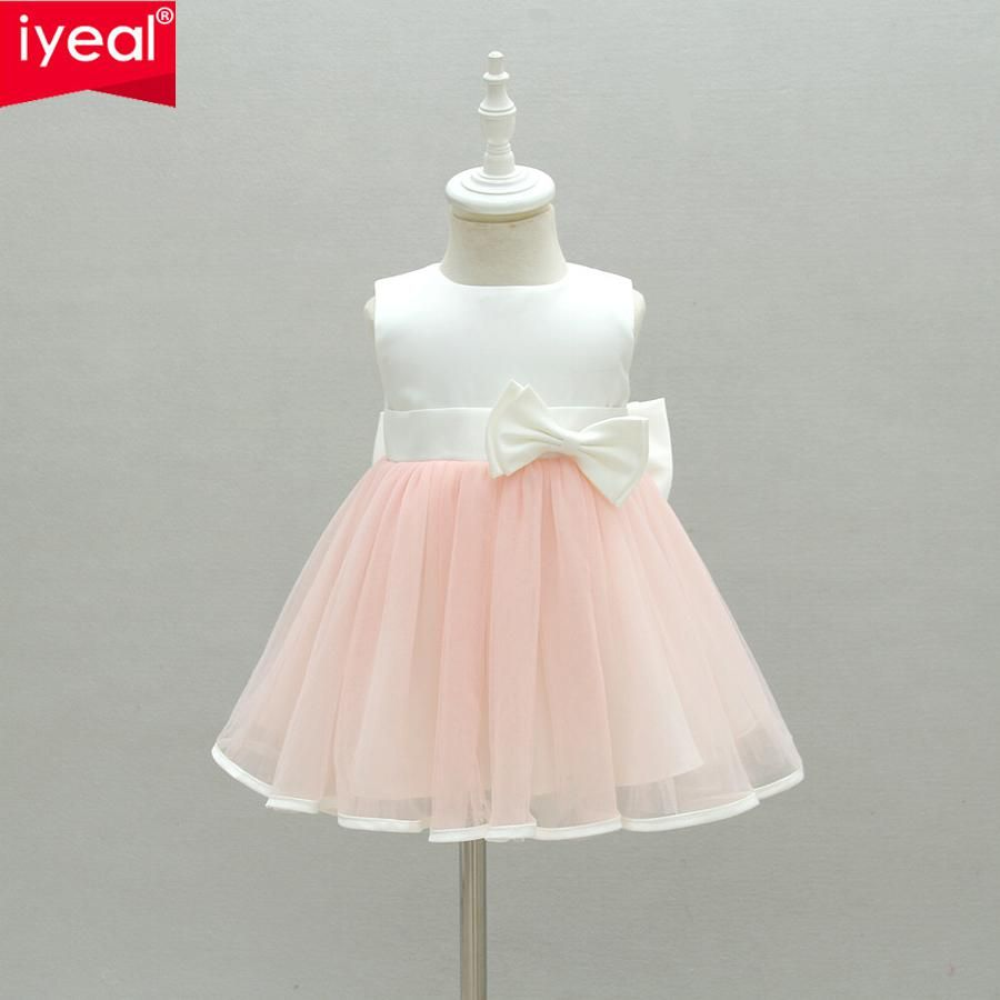 8faadc4a668e8 IYEAL Baby Girl Dress 2018 New Princess Infant Party Dresses for ...