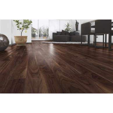 Walnut 10mm X 116mm Laminate Flooring Uk Floor And Door Shed Hardwood Floors Flooring Engineered Flooring