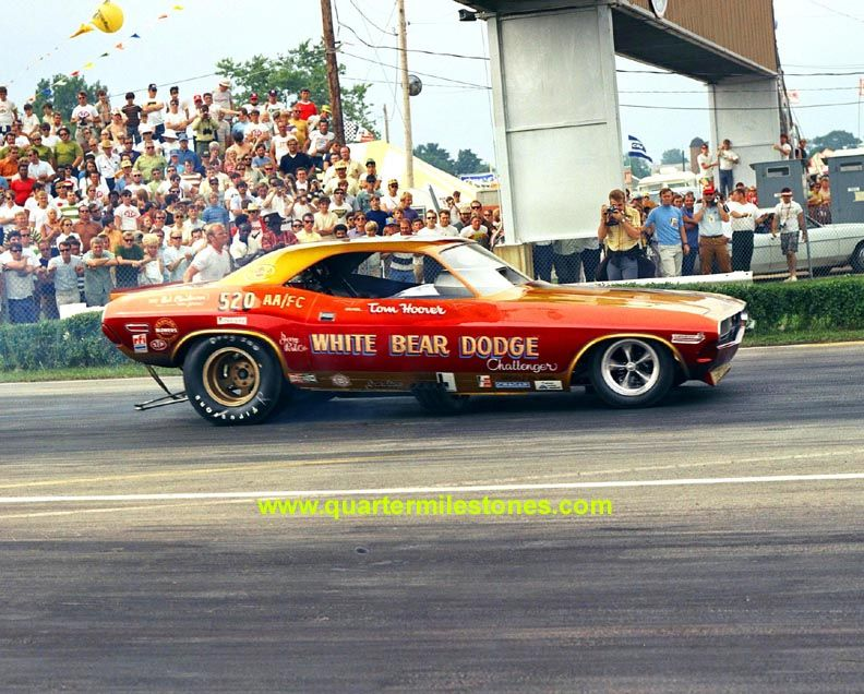 Candies and Hughes Mopar funny car one of the fastest back in the ...
