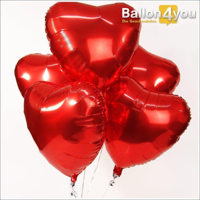 superbukett f nf herzballons da wird jemand gro e augen machen f nf ballonherzen schweben. Black Bedroom Furniture Sets. Home Design Ideas