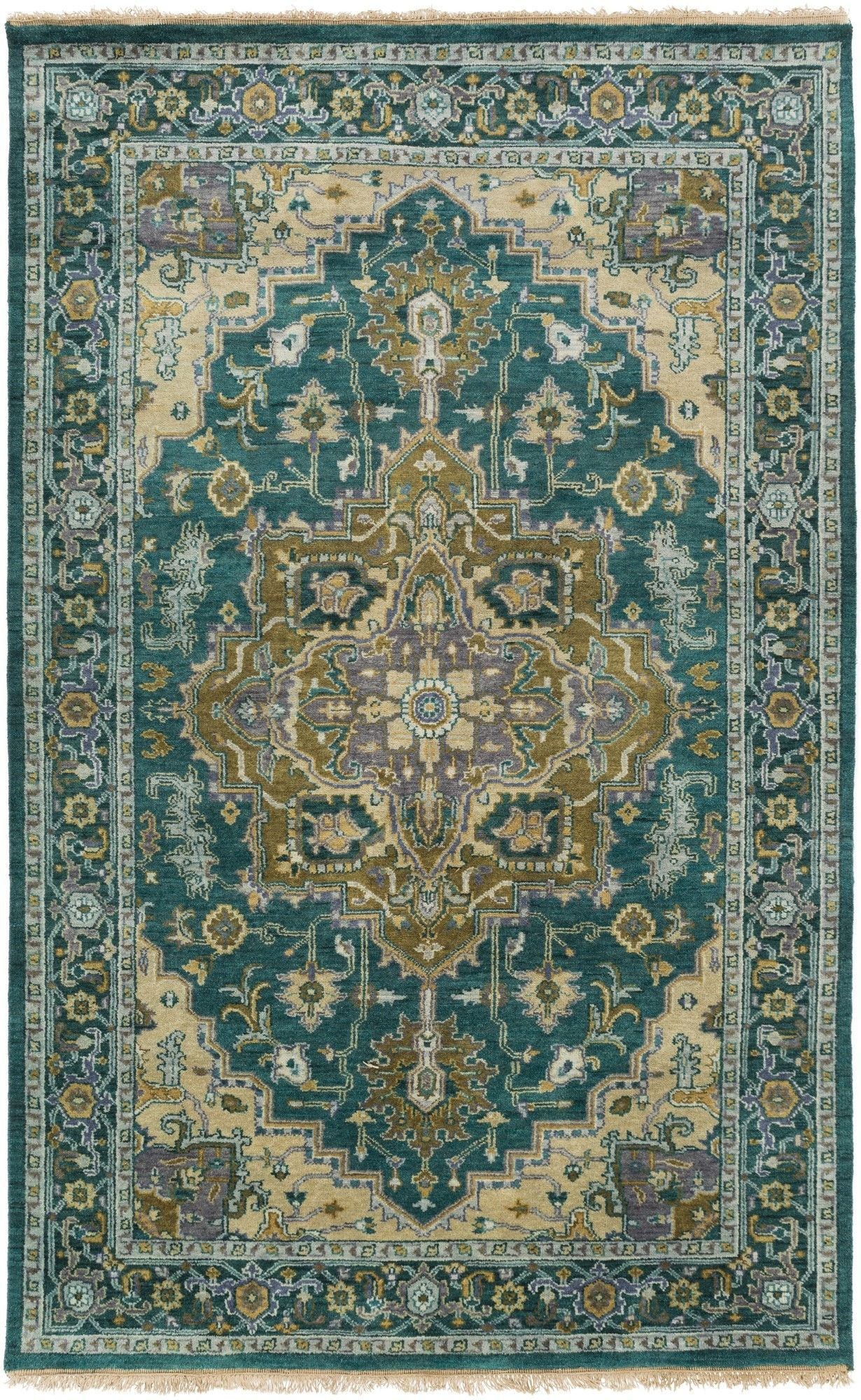 Zeus Teal Olive Oriental Rug In 2020 Traditional Area Rugs Teal
