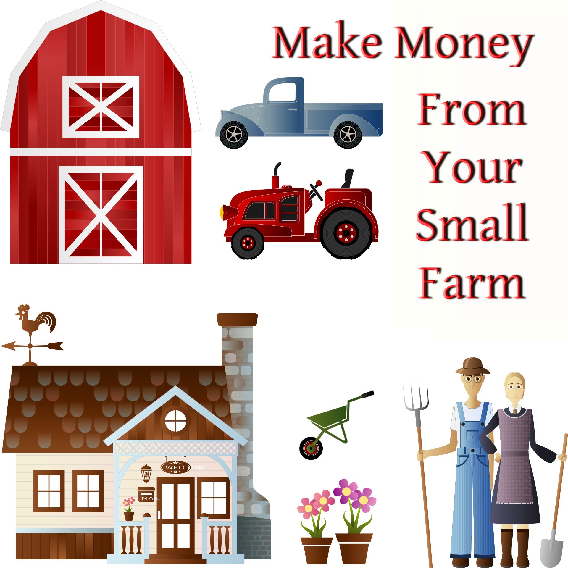 27 Ways To Make Money From Your Small Farm
