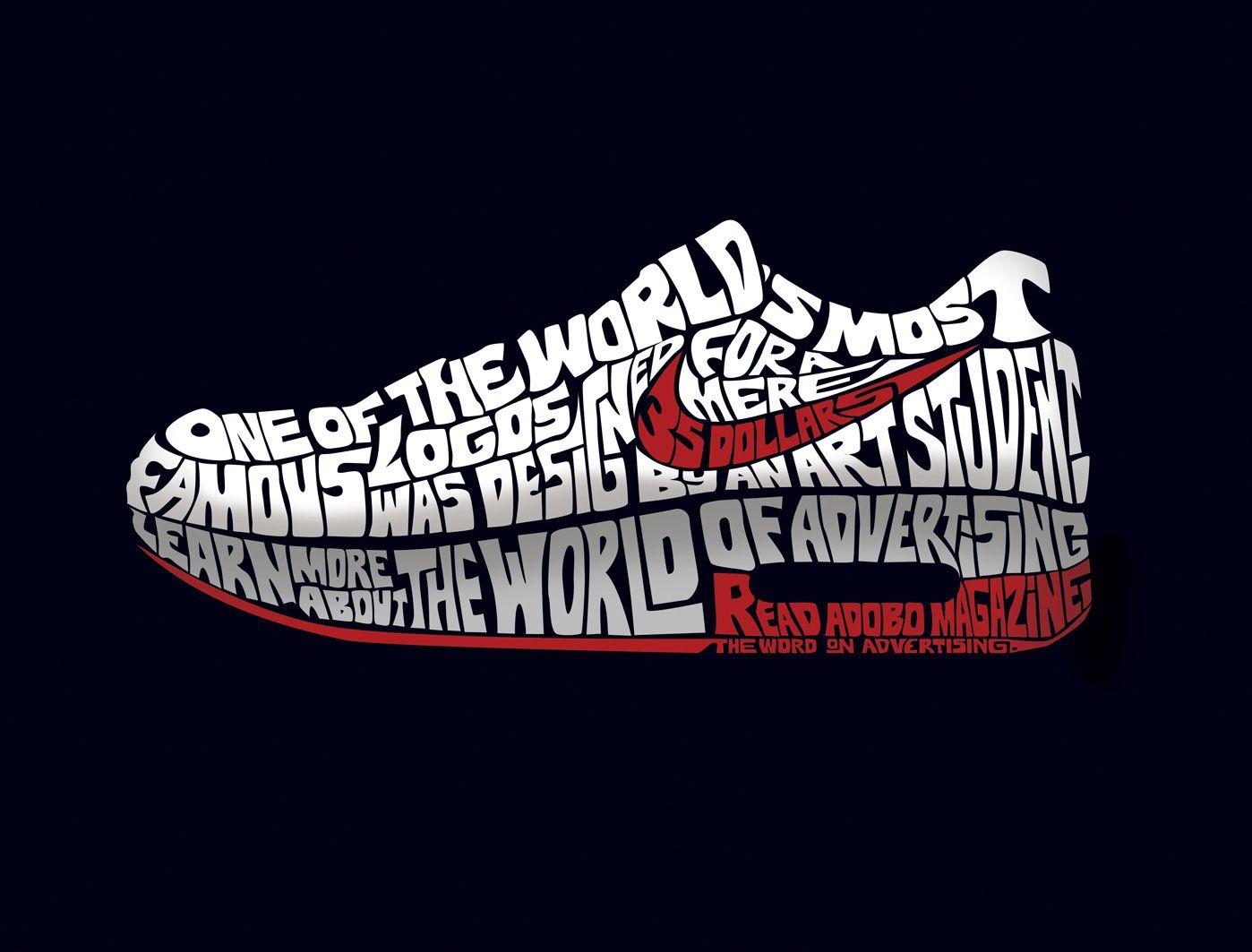 reputable site 46e3a c4f85 Adventure Graphics Nike vs Adidas, publicidad fuera de serie.
