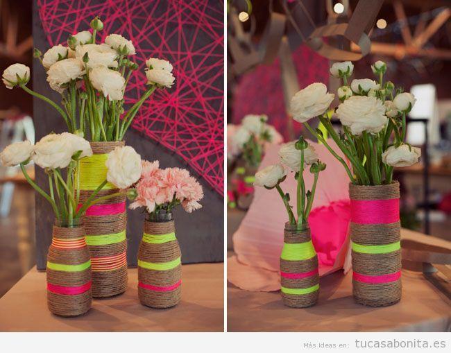jarrones hechos a mano para decoracin de casa