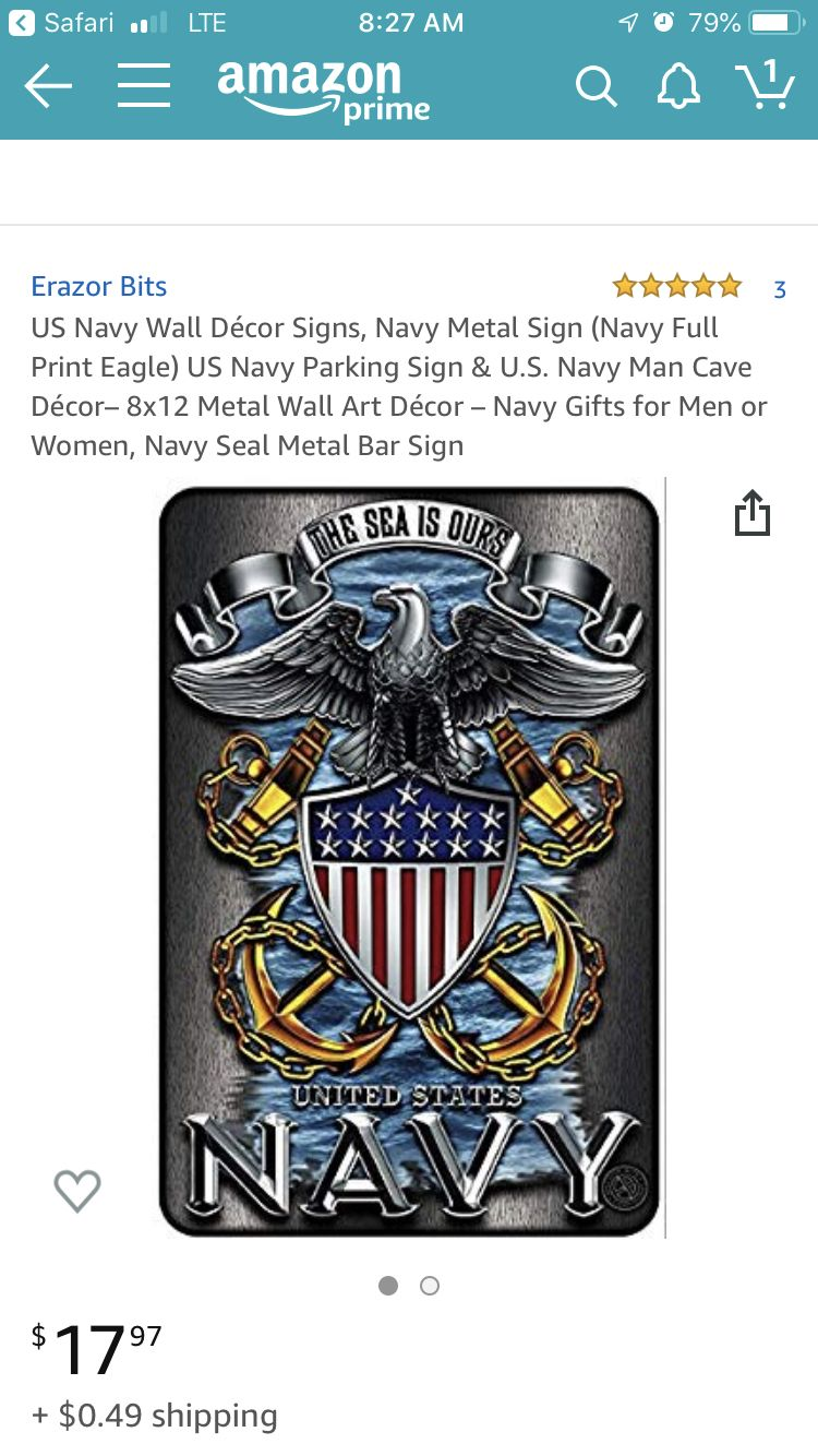 Pin By Staci Dubois On Joe S Retirement Man Cave Decor Navy Gifts Navy Walls