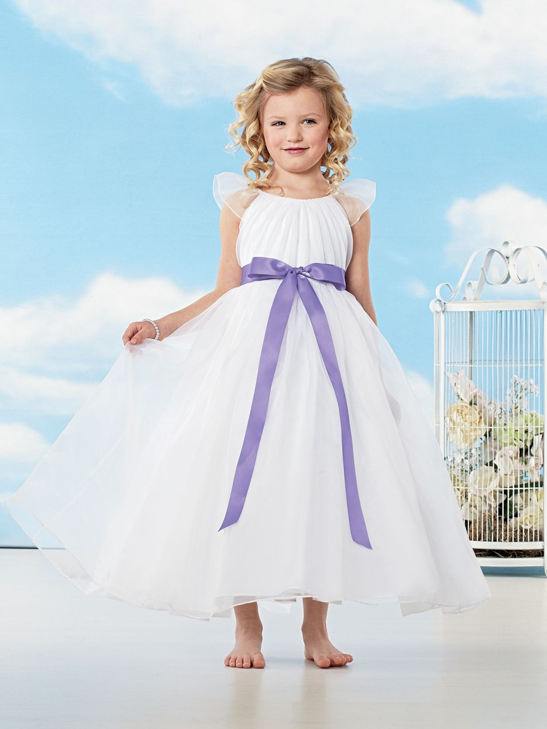 25bc585e1e00 Jordan Fashion Flower Girl Dresses - raveitsafe