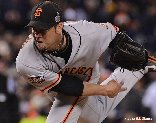 Ryan Vogelsong October 27, 2012