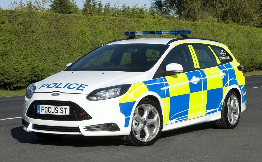 Ford Focus St Police Car Police Cars Ford Focus St Ford Focus