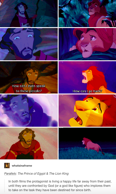 Prince Of Egypt And The Lion King Parallels Prince Of Egypt Disney And Dreamworks Disney Fun