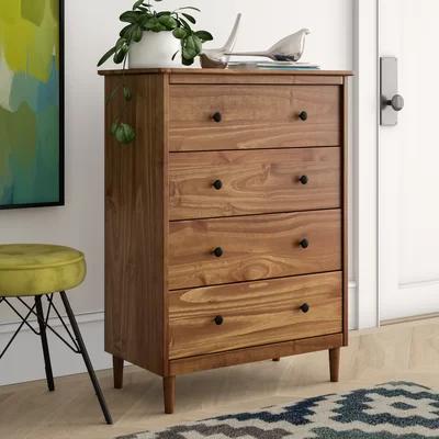 Mercury Row Lafever 4 Drawer Dresser & Reviews Wayfair