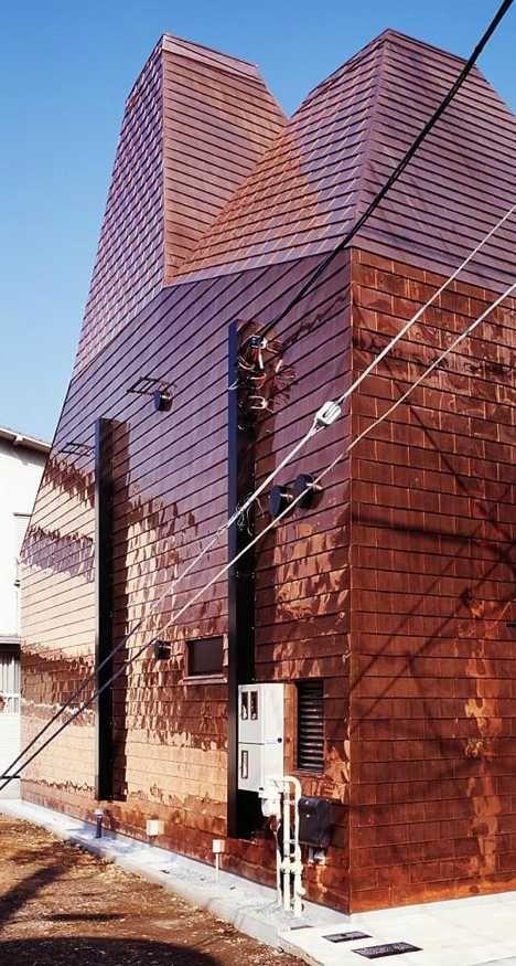 Penny Wise 12 Cool Copper Clad Buildings Urbanist Copper In Architecture Copper Roof Copper Design