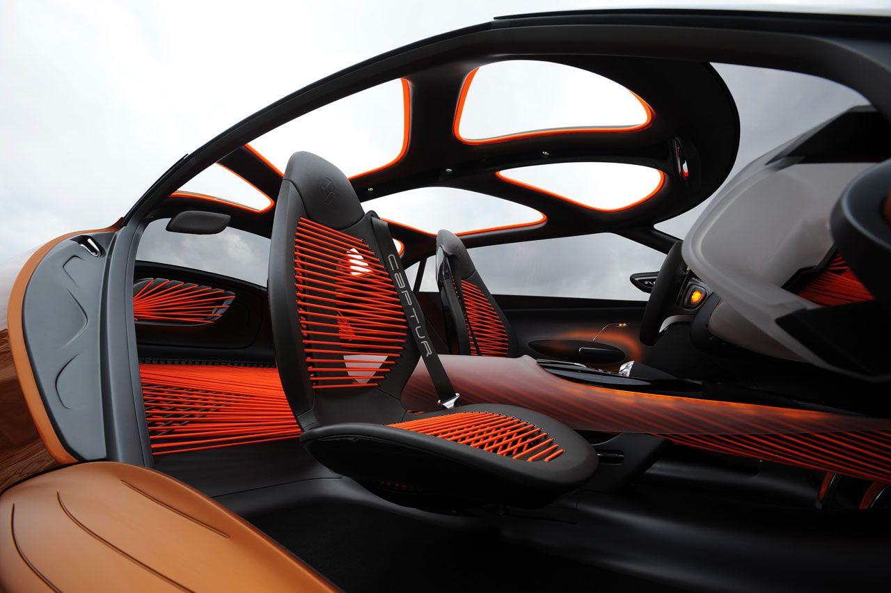 Renault Captur Concept Interior Car Interior Design Concept