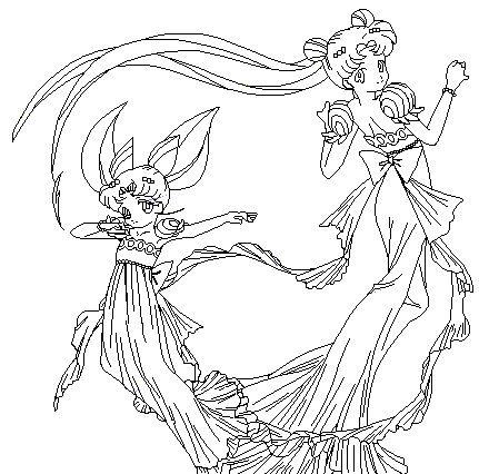 Dancing Princess Coloring Page by ParamourPhoenix.deviantart.com on ...