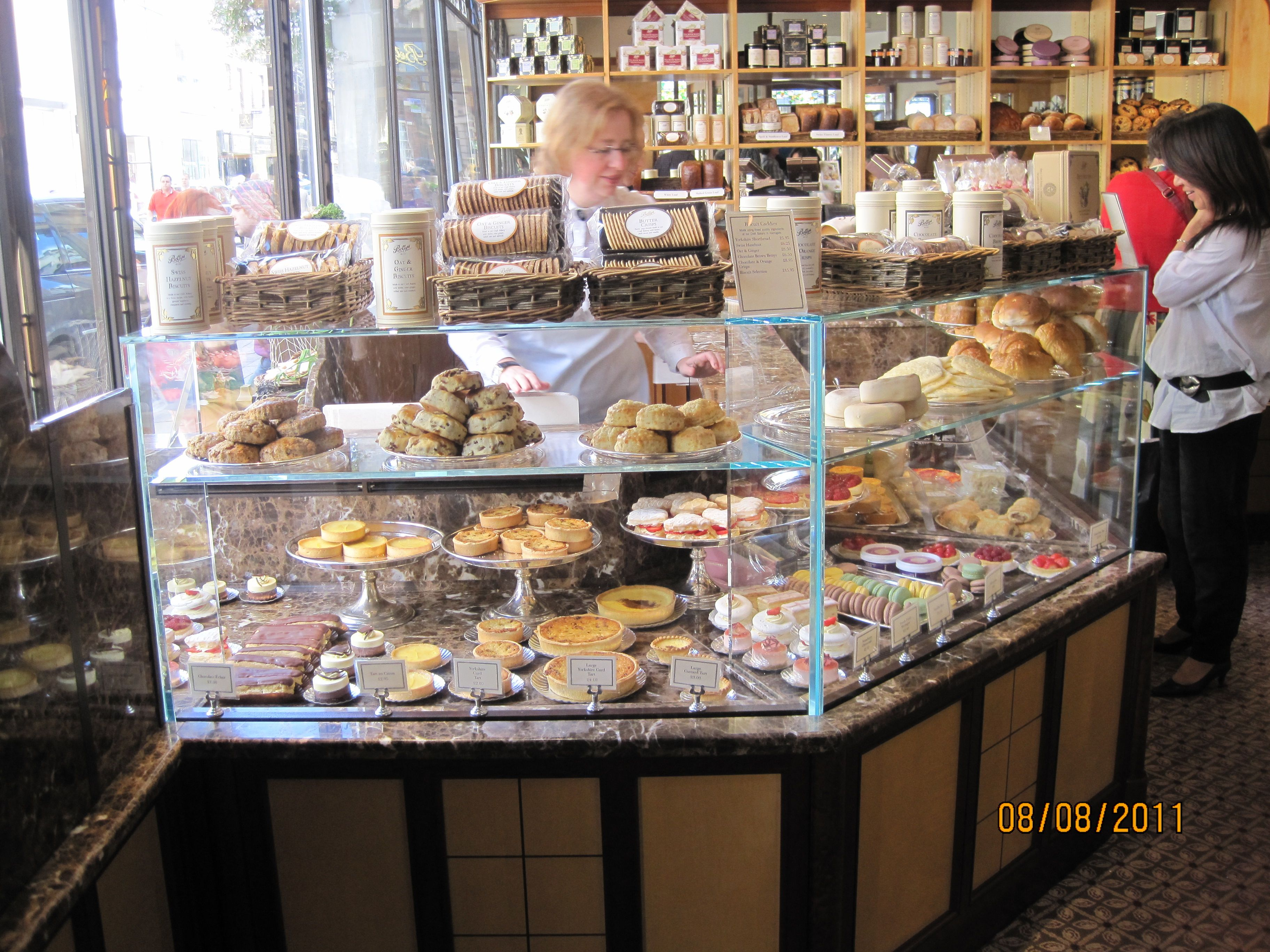 Bakery shop at bettyslove the open display my dream