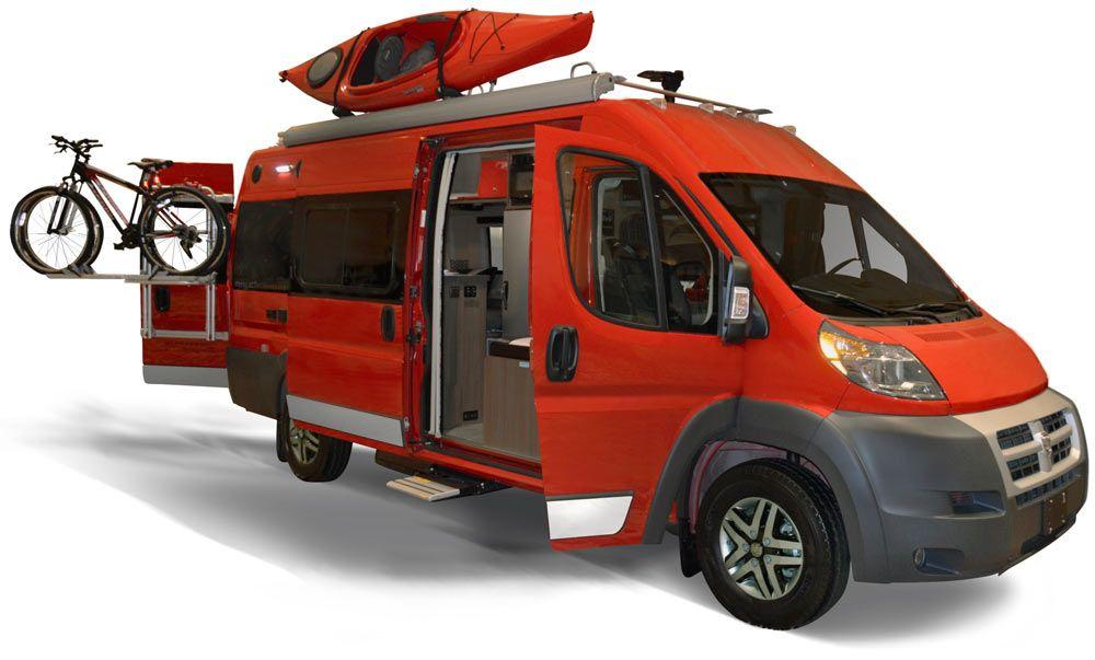 Adventure mobile 2015 winnebago travato adventure sports