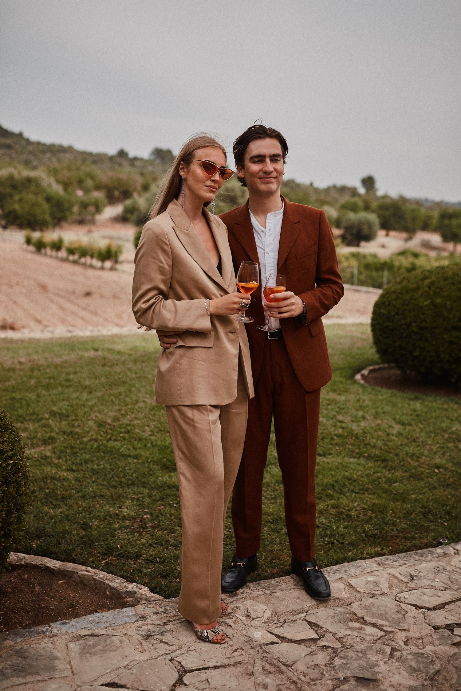 Female Wedding Guest In A Suit Image By Benjamin Wheeler Androgynous Wedding Guest Style Women Wedding Guest Suits Wedding Guest Outfit Wedding Guest Style