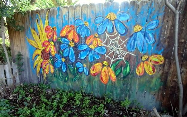 Painted Shed Mural