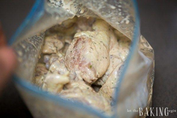 Garlic Ranch Chicken Wings   Let the Baking Begin!