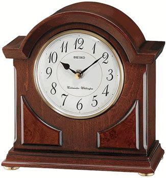 Seiko Qxj012blh Chiming Mantel Clock Mantel Clocks Carriage Clocks Wooden Clock