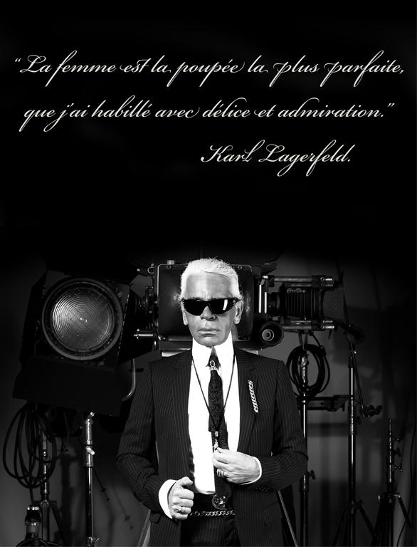 citation de karl lagerfeld