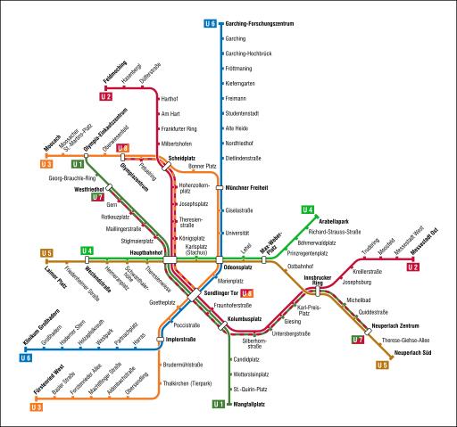 S Bahn Karte München.In Der Landeshauptstadt München Besteht Das Verkehrsystem Aus Der U