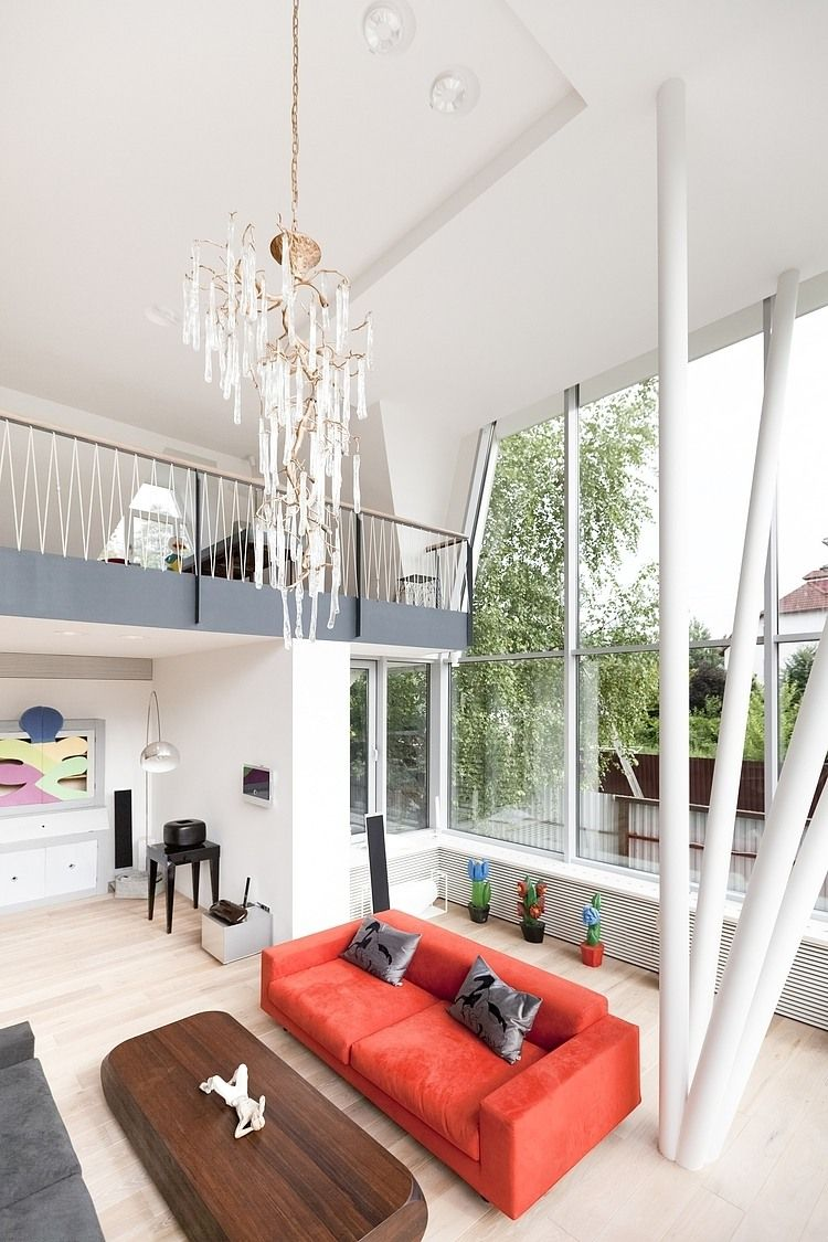 Charming House N In Moscow By 4a Architekten