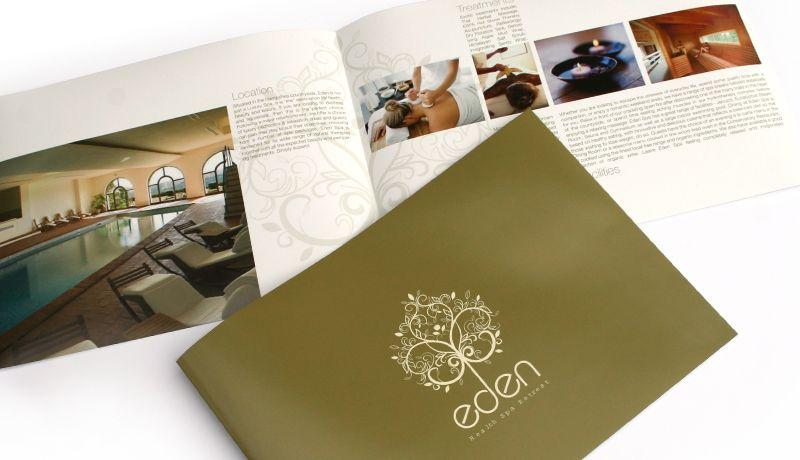Centro de rehabilitación folleto de diseño creativo Brochures - spa brochure