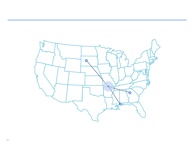 Mapas de Estados Unidos | Powerpoint slide templates ...