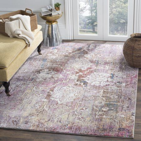 Home Pink Grey Rug Floral Area Rugs Area Rugs