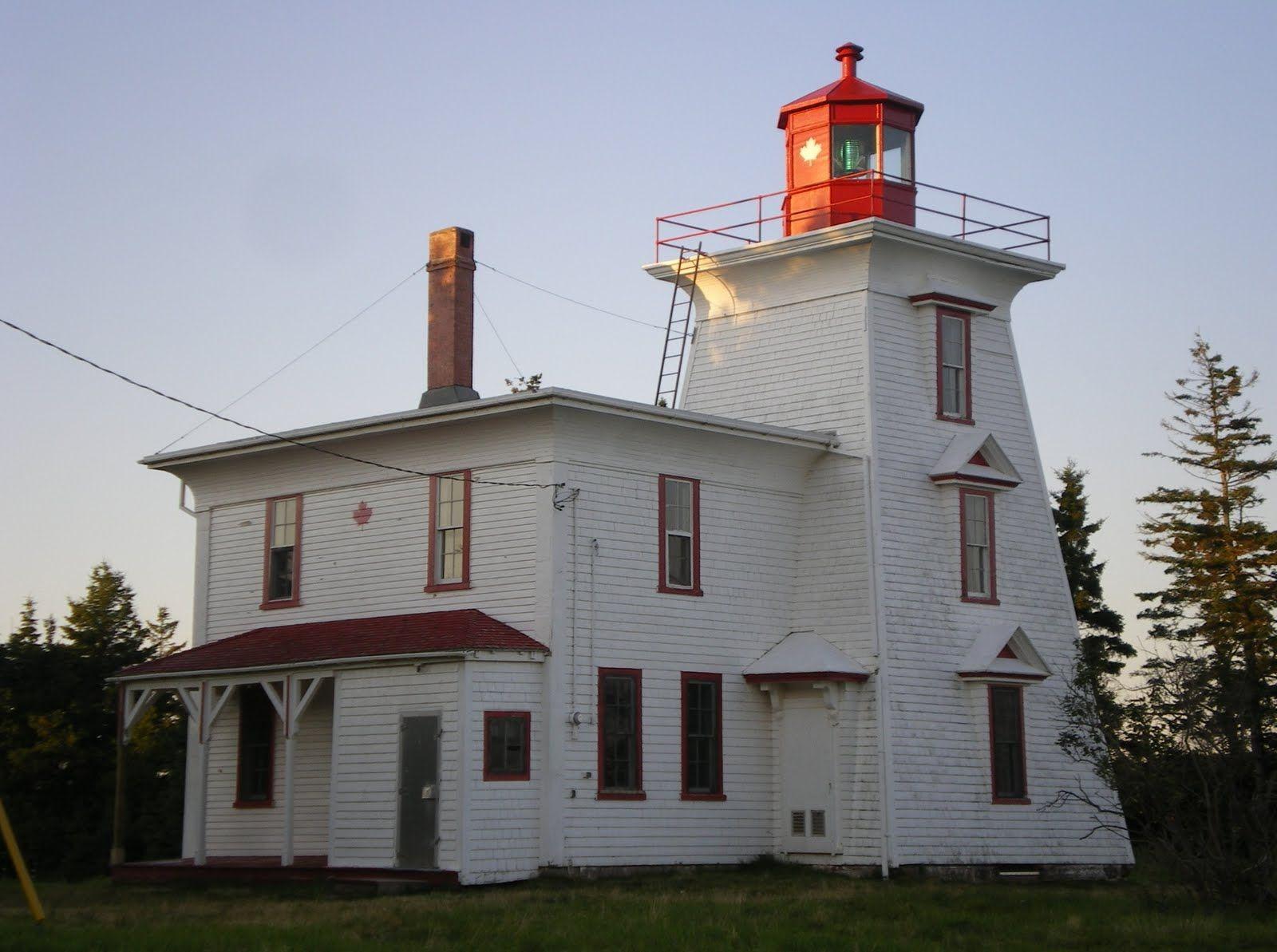 Blockhouse Point Light, Rocky Point, Prince Edward Island