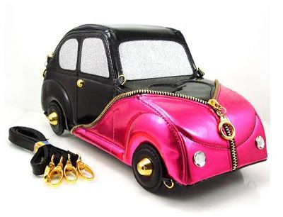 Car Shaped Purse Handbag