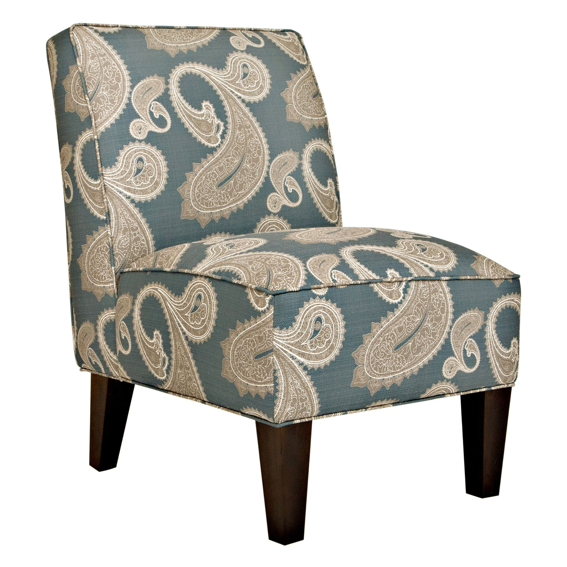 Whether Placed In The Living Room Or A Quiet Corner, This Armless, Upholstered  Chair