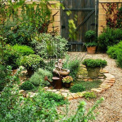 ESTILO RUSTICO jardines rusticos jardin Pinterest Gardens