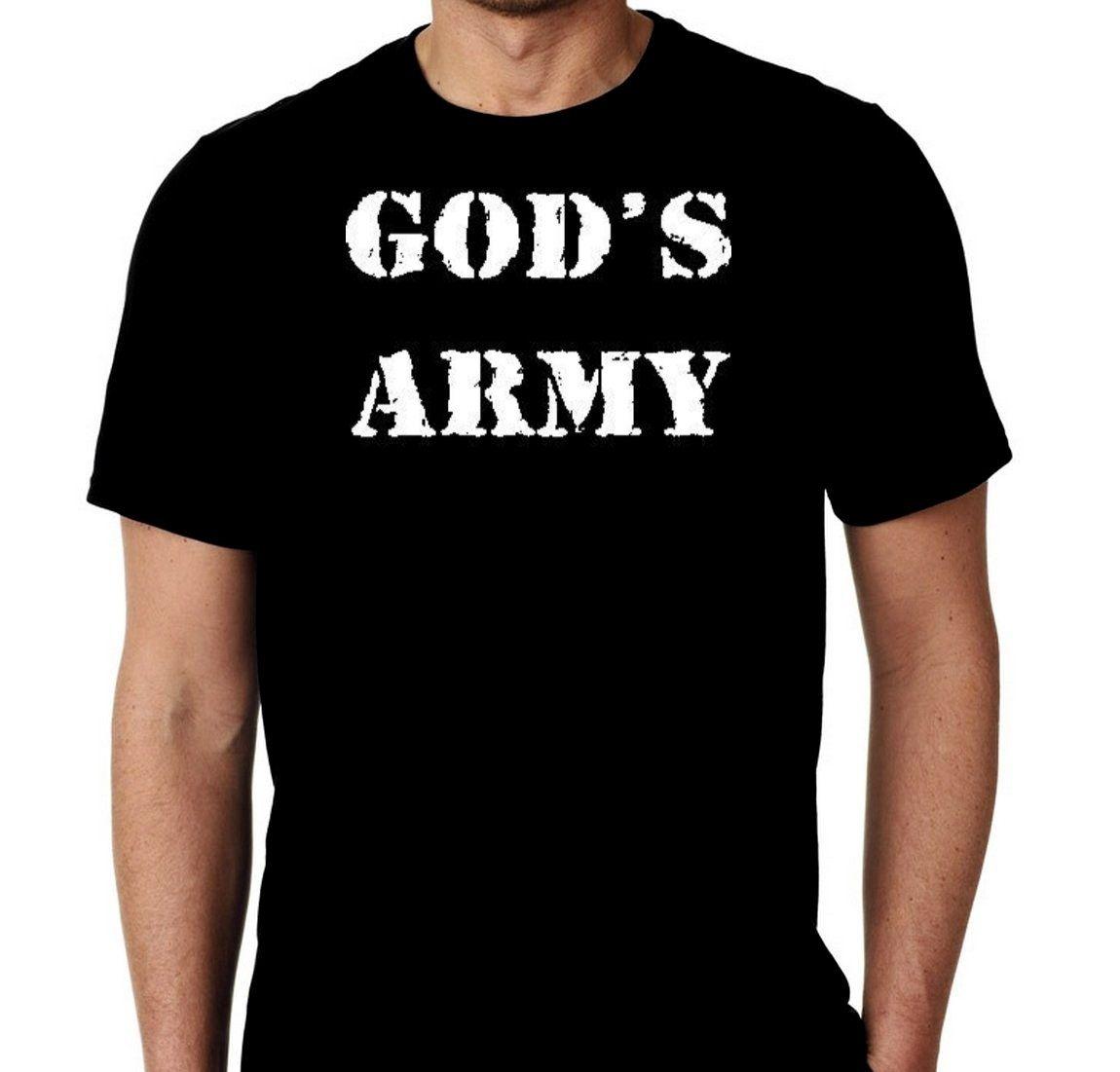 New Gods Army Religious Custom Tshirt Small - 4XL Free Shipping by MarieLynnTshirt on Etsy