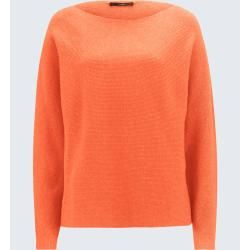 Pullover mit Cashmere in Orange windsor