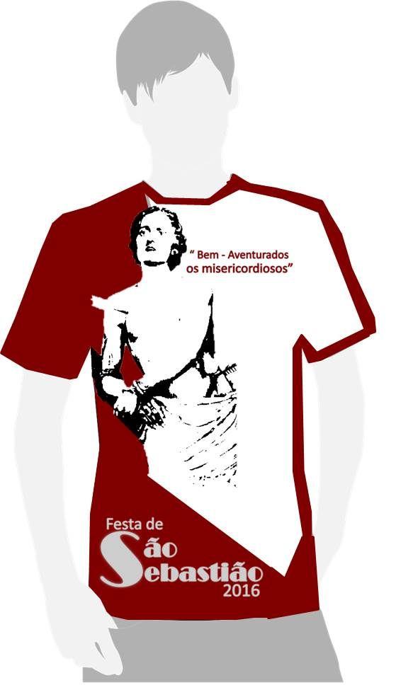 63f23bb7ed Resultado de imagem para camisetas de são sebastião