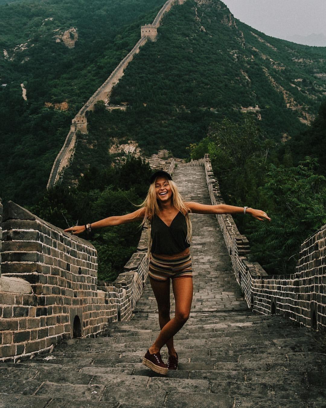 "ANDREA BELVER on Instagram: ""One of the seven wonders ✓ - best memories of the year.  #greatwallofchina ☾ #2017"", #Andrea #BELVER #greatwallofchina #Instagram #Memories #sevenwondersoftheworld #wonders #Year"