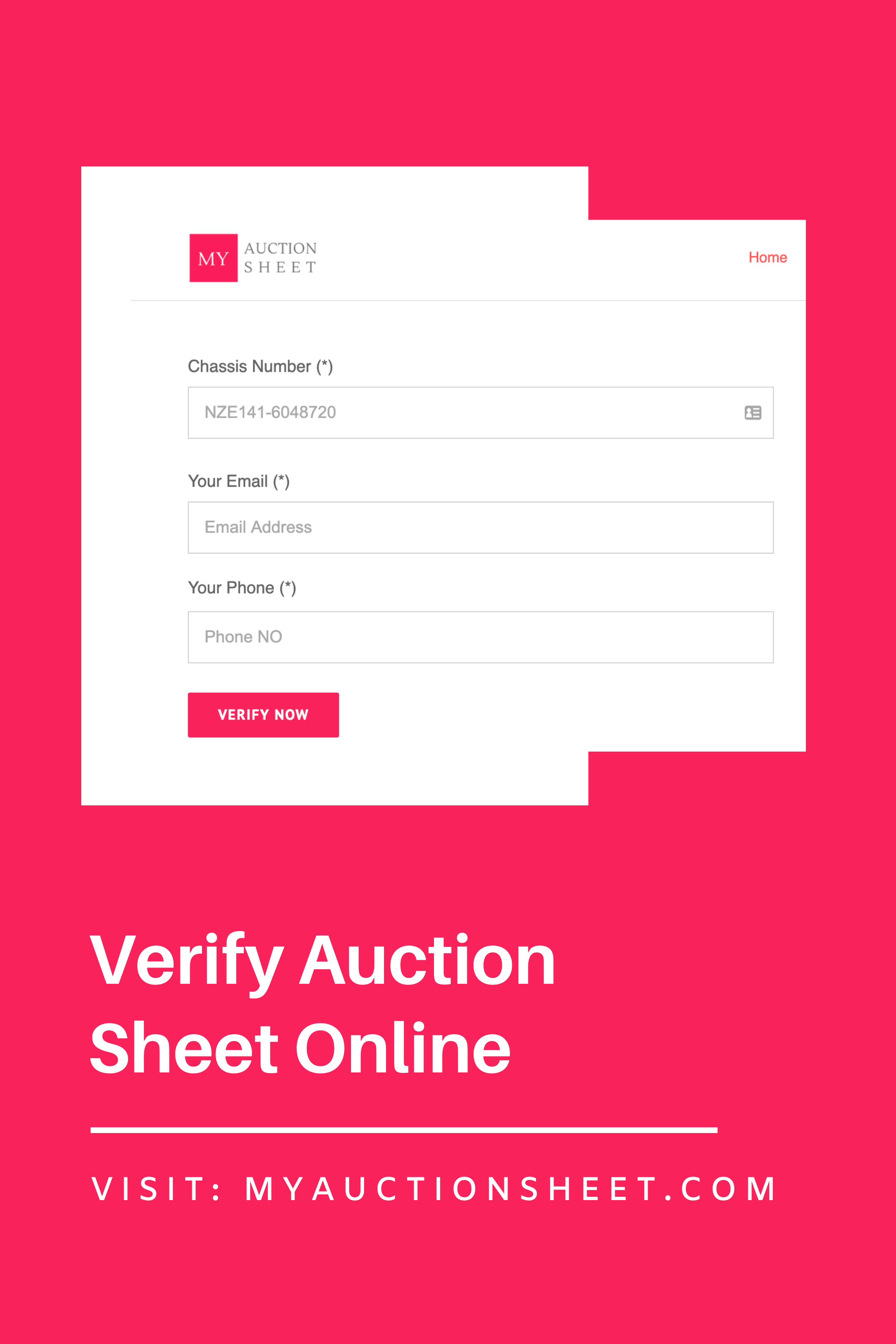 My Auction Sheet | Auction, Sheet, Japanese cars
