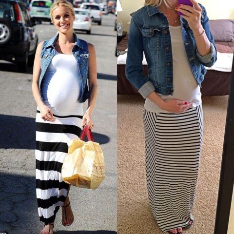 Kristin Cavallari Baby Shower Dress 28972 Loadtve