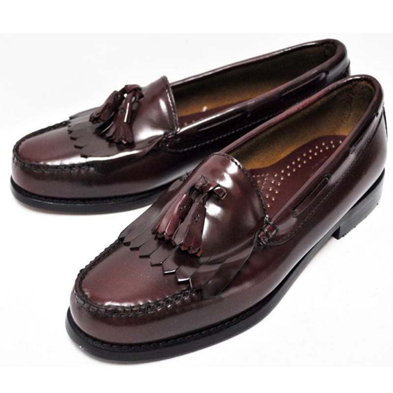 Layton Weejuns Kiltie Tassel Loafer in Burgundy by G.H. Bass ...