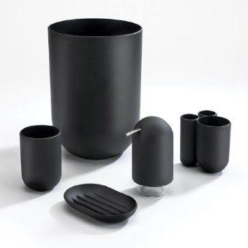 Umbra Touch Molded Bathroom Tumbler Black