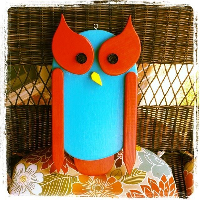 Owl For The Patio:)