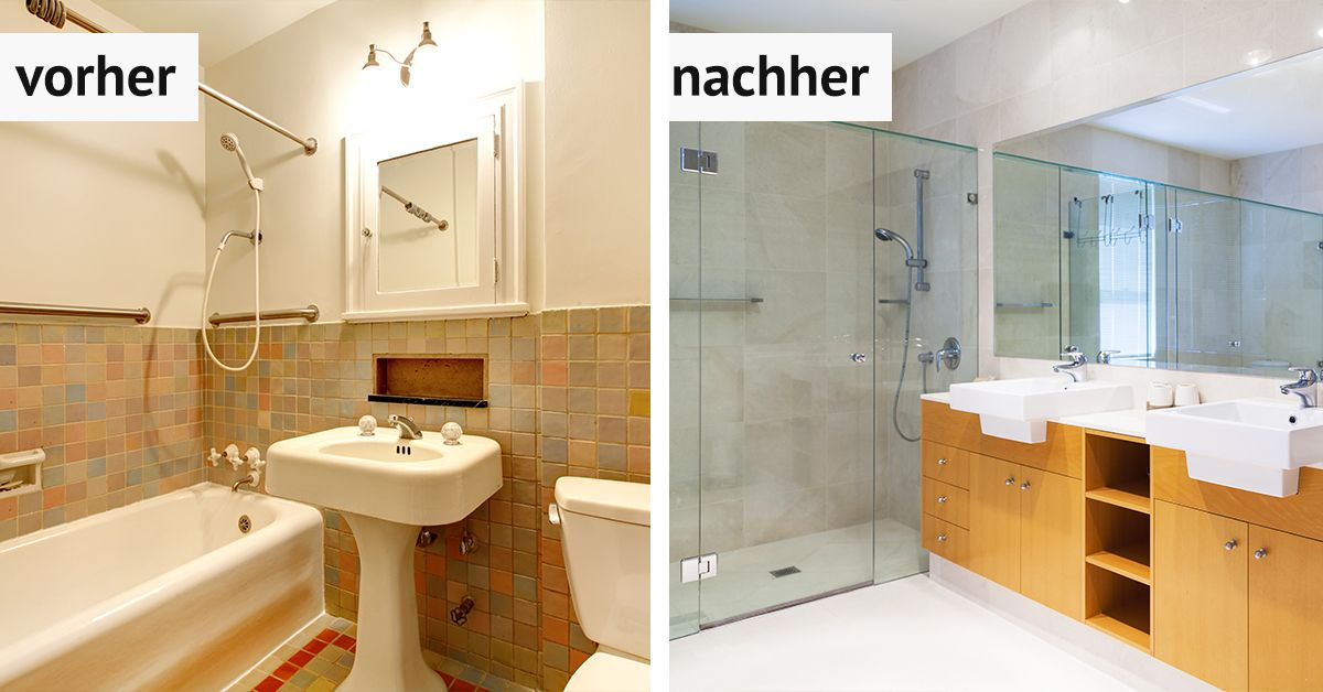 Pin On Badezimmer Projekte Vorher Nachher