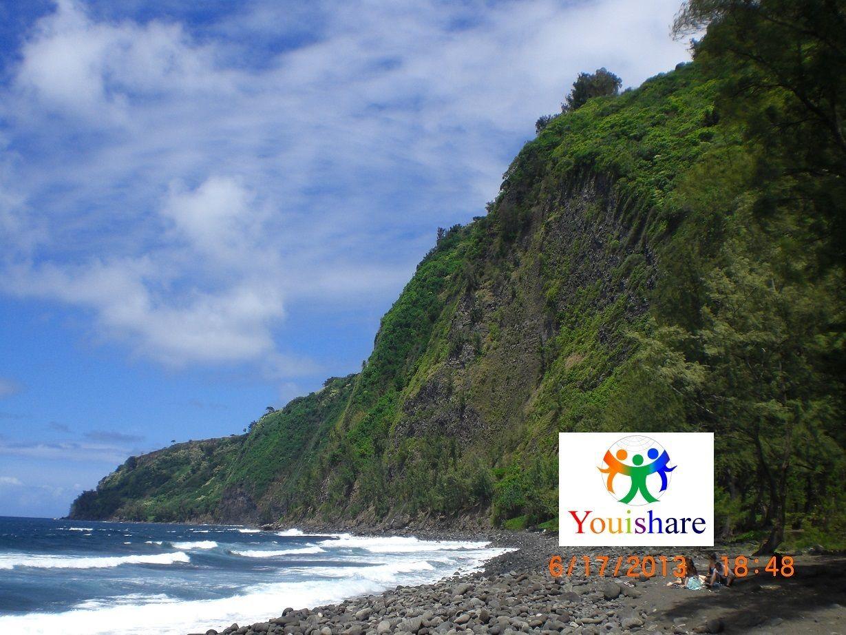 Wapio Valley in Big Island, Hawaii, from youishare.com