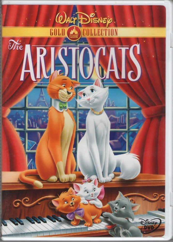 The Aristocats Dvd 2000 Gold Collection Rated G Full Screen