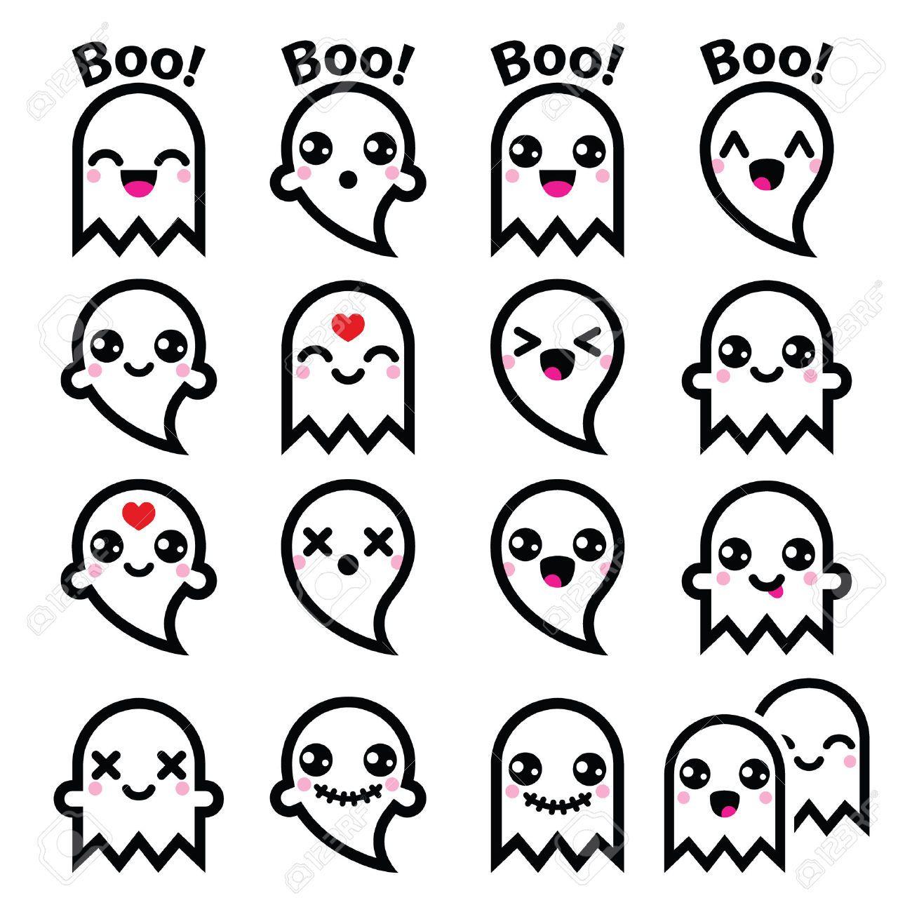 Pin by kwxwax on Kawaii Halloween icons, Halloween